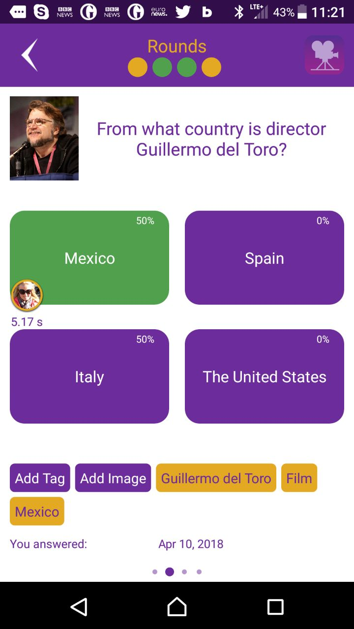 Quiz King 2.09 makes it possible to add images